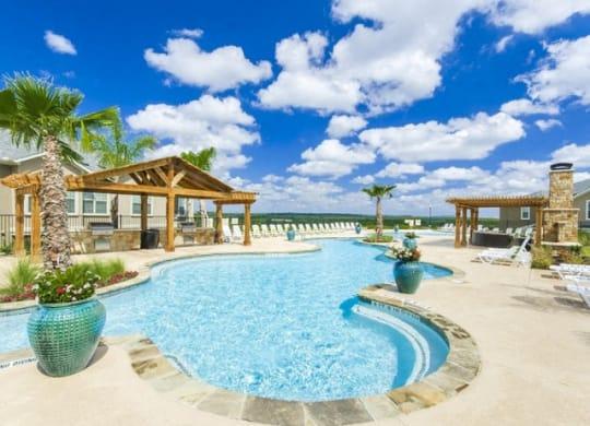 Outdoor Swimming Pool at Villages of Briggs Ranch, San Antonio, Texas