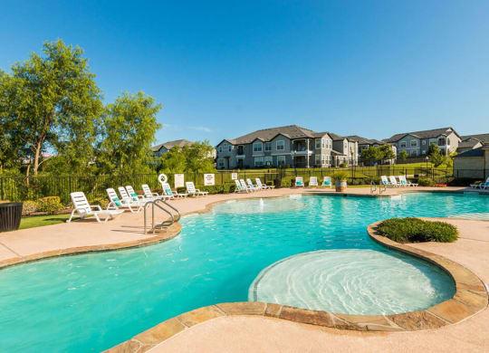 Glimmering Pool at Park at Briggs Ranch, Texas, 78245