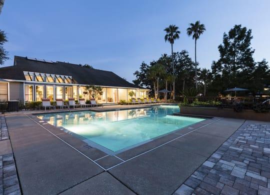 swimming pool at Fountains at Lee Vista, Orlando, FL, 32822