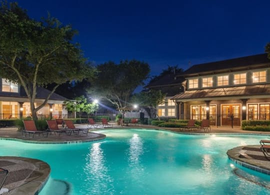 Invigorating Swimming Pool at Highlands Hill Country, Austin, TX, 78745
