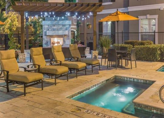 Swimming Pool at Estates at Bellaire, Houston, TX