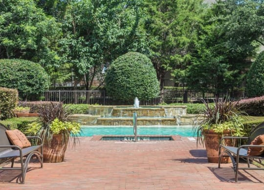 Four Swimming Pools at Stoneleigh on Spring Creek, Garland, Texas