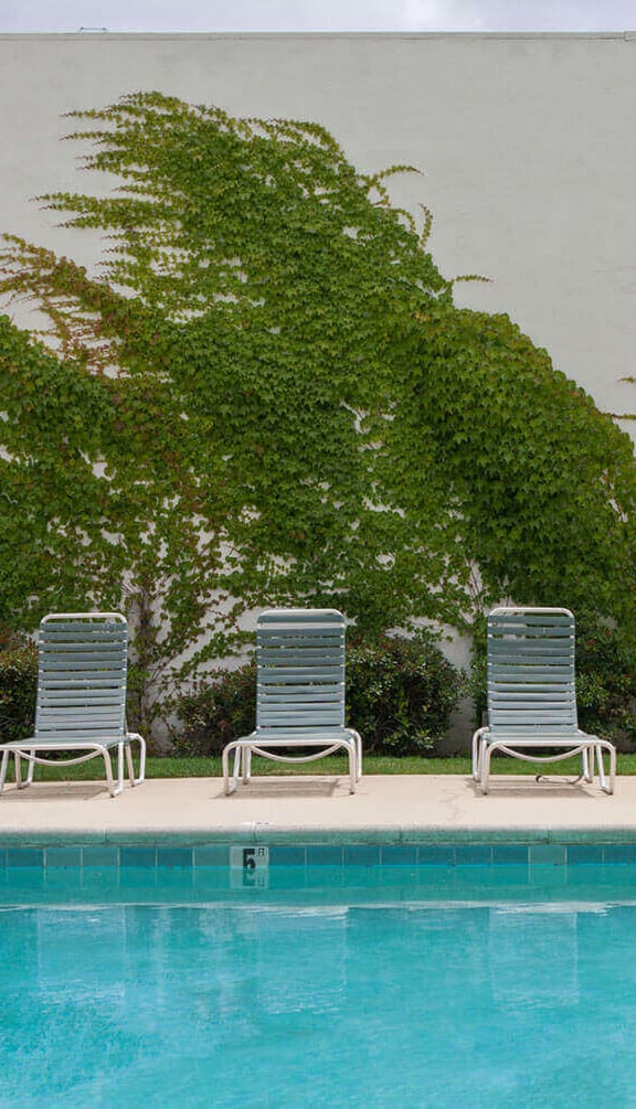 Swimming Pool With Lounge Chairs at Diablo Pointe, California, 94596