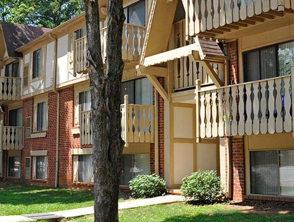 Access Controlled Community at Laurel Woods Apartments, Greenville