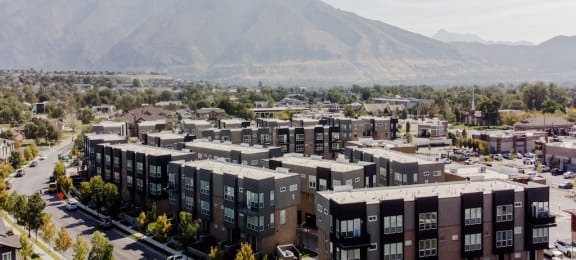 Aerial View of Parc at Day Dairy Townhomes
