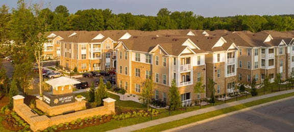 Apartment buildings with patio or balcony