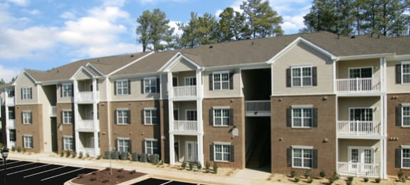 Three Story Luxury Apartment Community