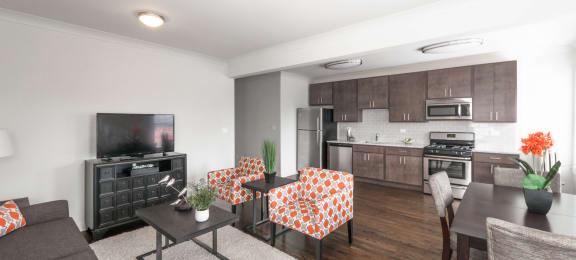 renovated apartments at 5425 N Clark