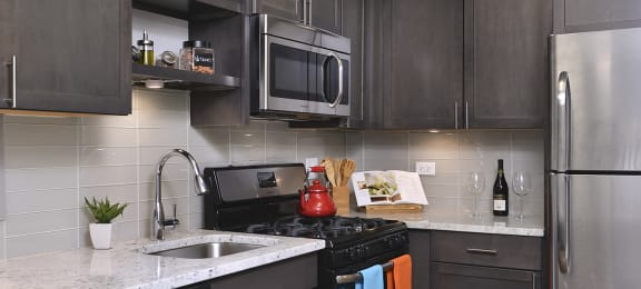 Granite Countertops at Reside on North Park, Chicago, IL,60614