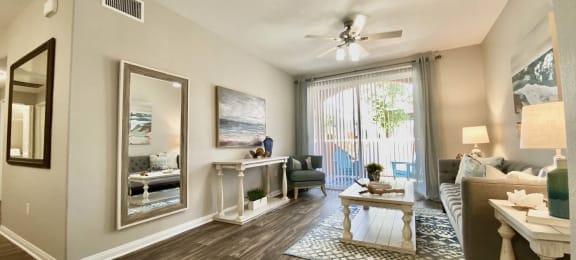 Spacious Living Room  at Santa Rosa Apartments, Wildomar, CA