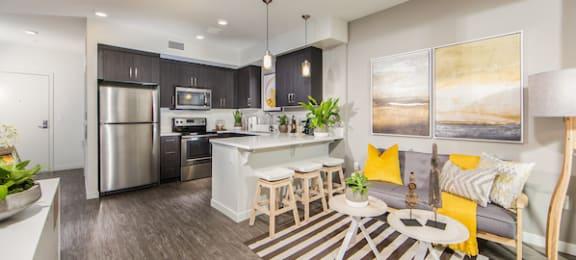 Open floor plans at Marc San Marcos Apartments