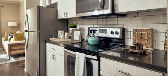Kitchen Views at Victoria Arbors Apartment Homes