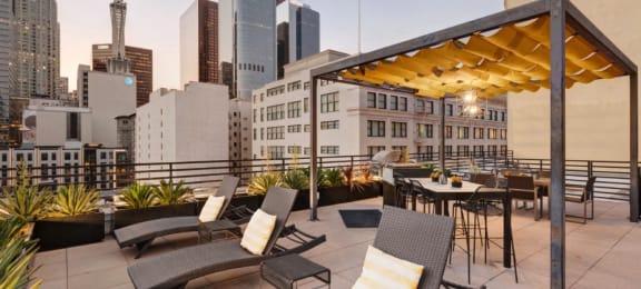 Broadway Lofts DTLA Roof Deck