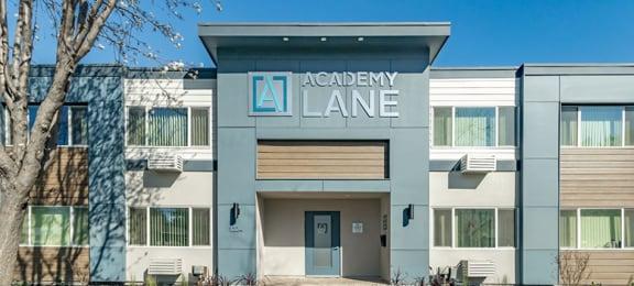 Front Entrance | Academy Lane Apartments