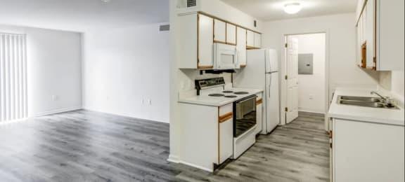 Updated Kitchen at Walnut Creek Apartments in Kokomo, IN