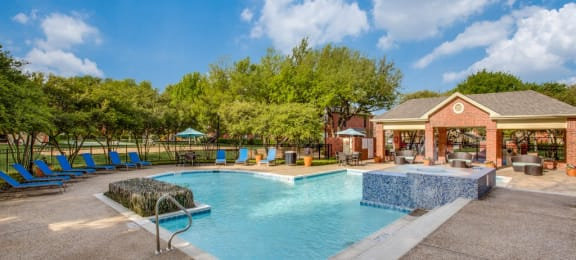 Resort Pool with Sun Deck