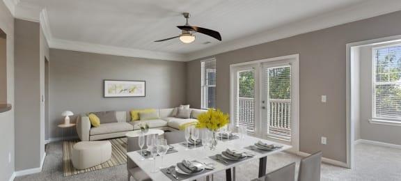 Dining Room- Living Room- Model