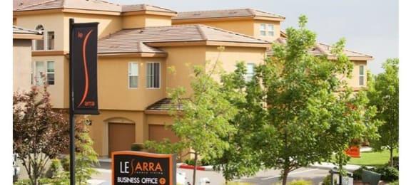 Entrance to Community l Lesarra Apartment in El Dorado Hills Ca