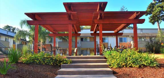 Sun Porch Gazebo In Courtyard at Sunnyvale Town Center, Sunnyvale, 94086