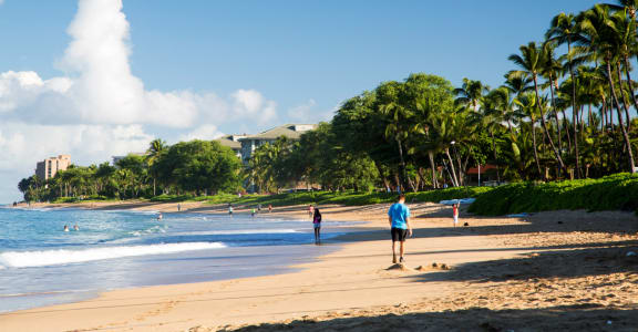 Stock photo of ocean beach