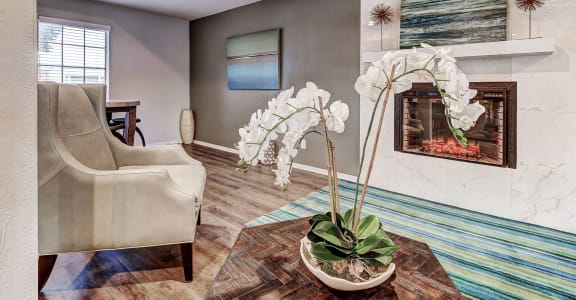 Spacious Living Room at Shadow Creek, North Richland Hills, TX