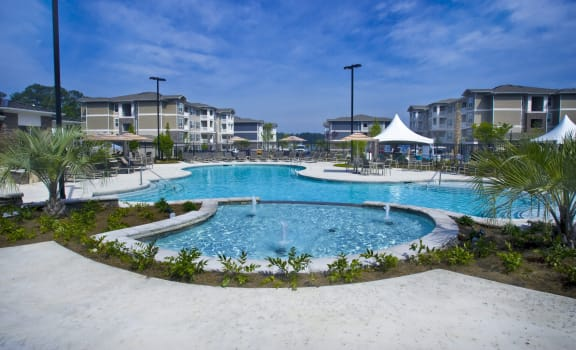 Marina Bay Amenity Pool Deck