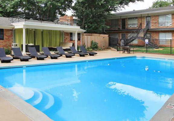 the granie at olsen park amarillo apartments swimming pool
