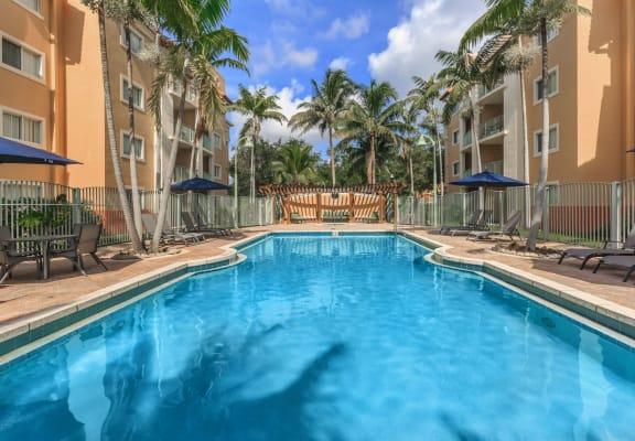 Shamrock of Sunrise Apartments pool