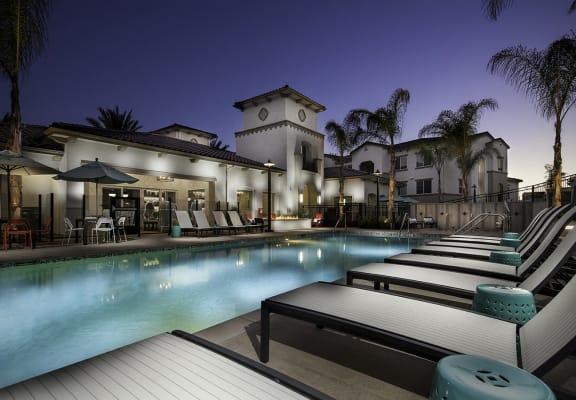 Poolside Sundeck, at SETA, La Mesa, 91942