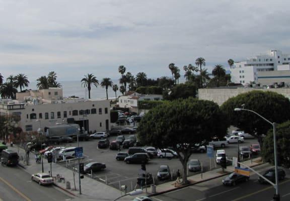 Mayfair Residences view of Santa Monica