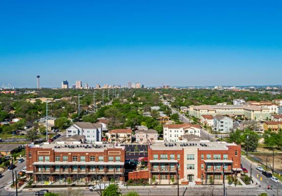 Eagle eye view_East Meadows San Antonio TX