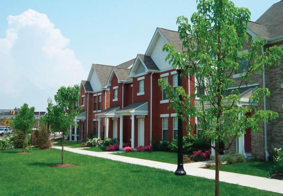 Apartment building exterior-Lafayette Village Apartments, Jersey City, NJ