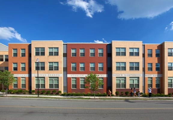 Street view across the street-Legacy Apartments, Pittsburgh, PA 15219