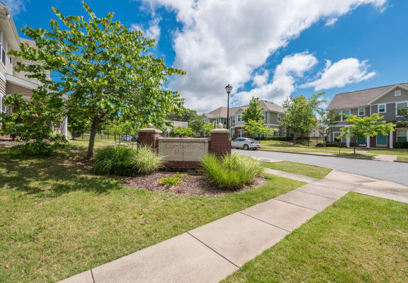 Street entrance-Metropolitan Village and Cumberland Manor Apartments, Little Rock, AR