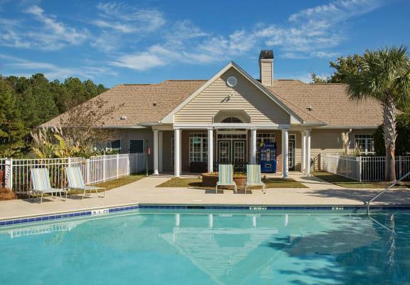 Invigorating Swimming Pool at Litchfield Oaks Apartments, Pawleys Island, South Carolina