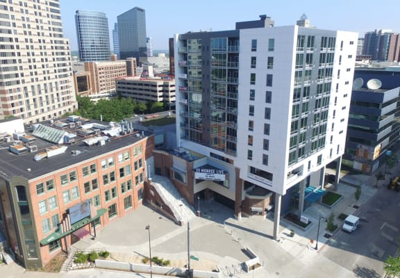 Sky view of Venue Tower Apartments