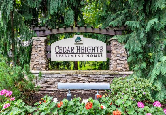 Cedar Heights Monument