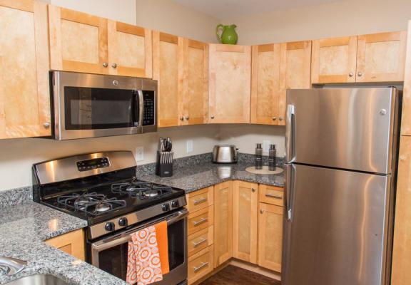 village green kitchen apartment photo