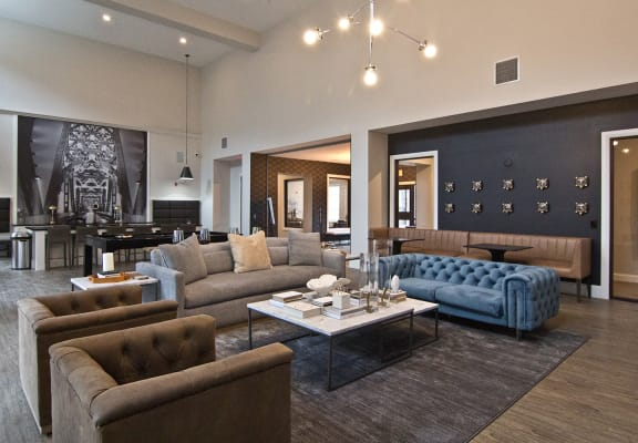 Community Rooms at The Baxter, Louisville, Kentucky