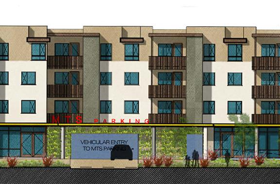 Exterior Building Rendering l Villa Encantada Apartments in San Diego CA