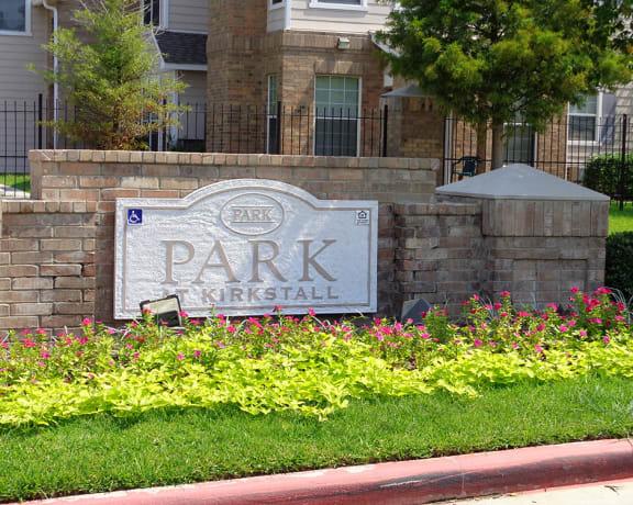 Park at Kirkstall Apartments Signage