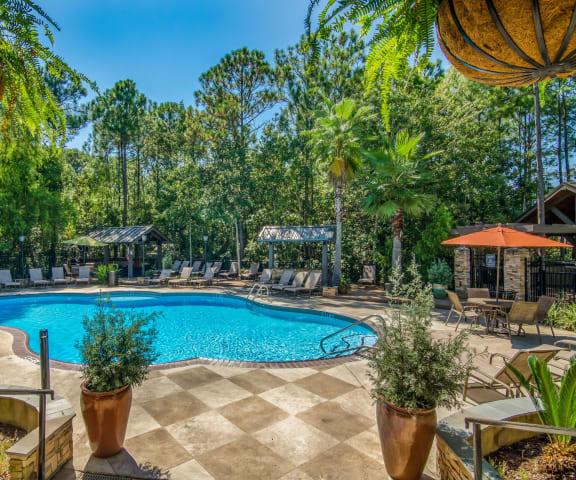 Luxurious Pool at Lagniappe of Biloxi Apartment Homes, Biloxi, Mississippi, 39532