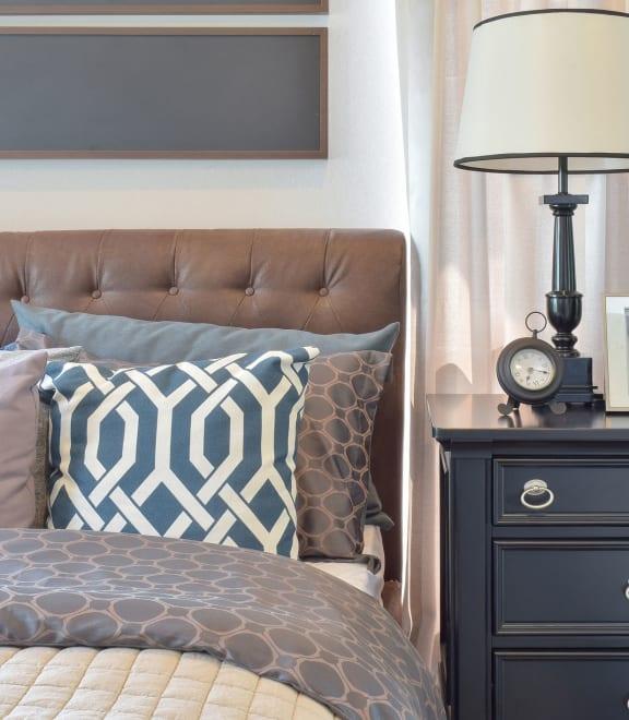 stock image- bedroom