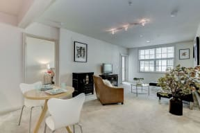 Living Room With Dining Area at Garfield Park, Virginia, 22201
