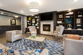Beautifully Remodeled Clubhouse at The Gentry at Hurstbourne, Kentucky