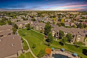 Aerial view of property at alvista harmony