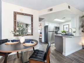 Solas Glendale Dining Room and Kitchen