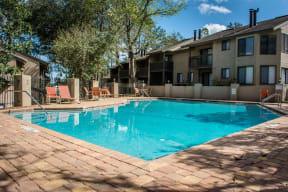Pool at Laurel Grove Apartment Homes, Orange Park