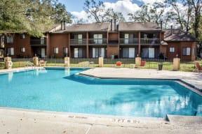 Pool view at Laurel Grove Apartment Homes, Orange Park, FL