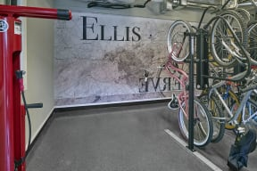 Bicycle Storage and Workstation